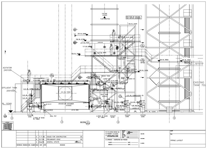layout of process piping systems piping plant layout